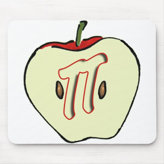 Apple PI (PIE) 3.14 Mouse Pad