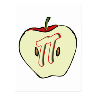 Apple PI (PIE) 3.14 Postcard