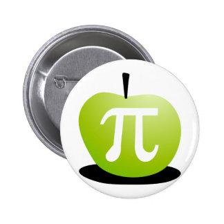 Apple Pi Pinback Button