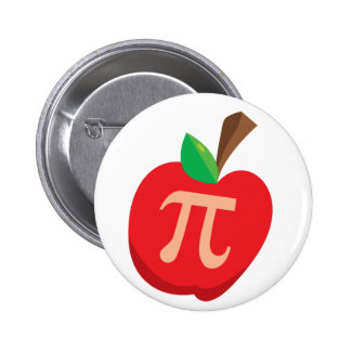 Apple Pi Pinback Buttons