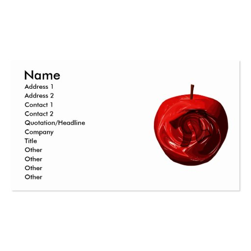 Apple_Pi Plantilla De Tarjeta De Negocio