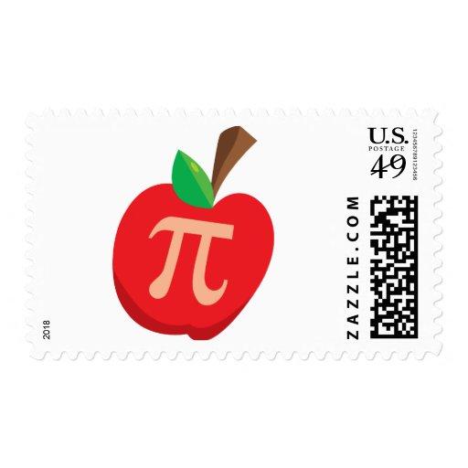 Apple Pi Postage Stamps