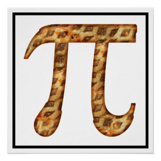 Apple pi perfect poster