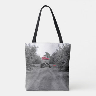 Apple Picking - fall - nature - autumn - tote