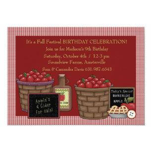 Apple Orchard Invitations