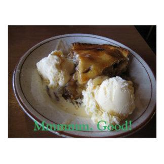 Apple Pie A-la-mode Postcard