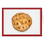 Apple Pie (Add Background Color) Greeting Cards