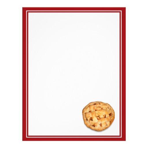 Apple Pie (Add Background Color) Letterhead
