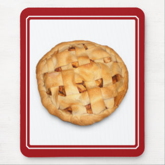 Apple Pie (Add Background Color) Mouse Pad