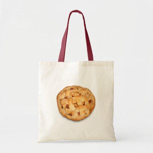 Apple Pie (Add Background Color) Tote Bags
