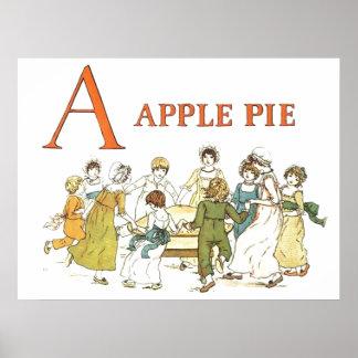 Apple Pie Alphabet Print
