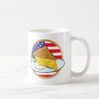 Apple Pie American Flag Coffee Mug