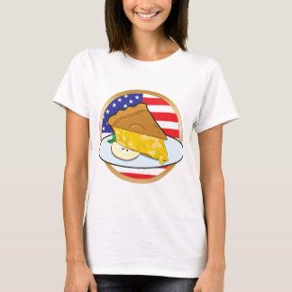 Apple Pie American Flag T-Shirt