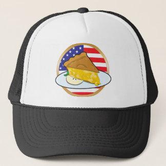 Apple Pie American Flag Trucker Hat