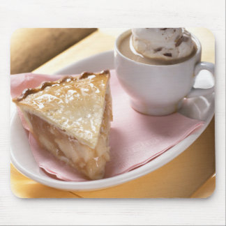 Apple pie and hot cocoa mouse pad