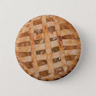 Apple Pie Baked Pinback Button