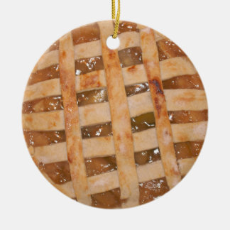 Apple Pie Baked with Love from Mom Ceramic Ornament