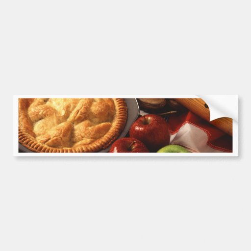 Apple pie bumper stickers