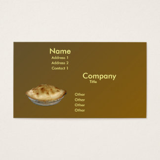 Apple Pie Business Card