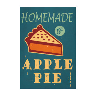Apple Pie Canvas Print