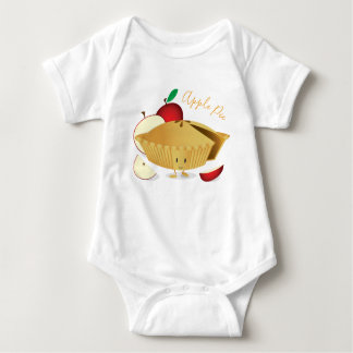Apple Pie Character | Baby Bodysuit