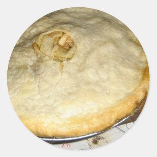 Apple Pie Classic Round Sticker