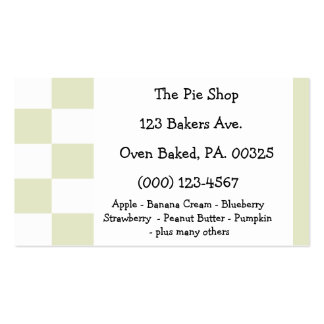 Apple Pie Colors Double-Sided Standard Business Cards (Pack Of 100)