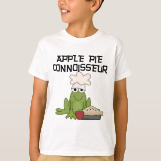 Apple Pie Connoisseur Funny Frog Chef T-Shirt