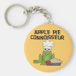 Apple Pie Connoisseur Tshirts and Gifts Keychain