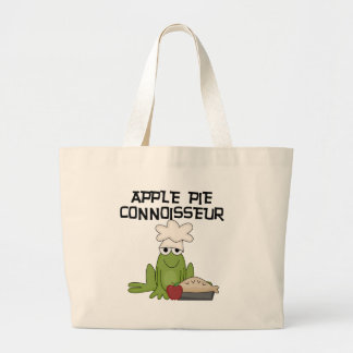Apple Pie Connoisseur Tshirts and Gifts Large Tote Bag