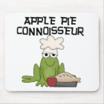 Apple Pie Connoisseur Tshirts and Gifts Mousepad
