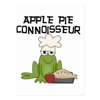 Apple Pie Connoisseur Tshirts and Gifts Postcard