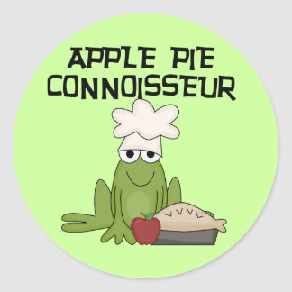 Apple Pie Connoisseur Tshirts and Gifts Stickers