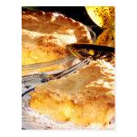 Apple Pie Dessert Postcard