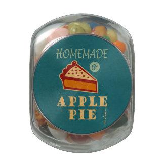 Apple Pie Glass Jars