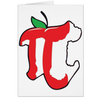 apple pie greeting card