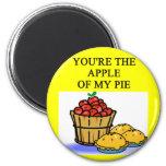 APPLE pie lovers Magnet