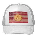 Apple Pie on Old Glory Mesh Hat