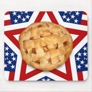 Apple Pie on Stars & Stripes Mousepad