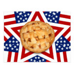 Apple Pie on Stars & Stripes Postcards