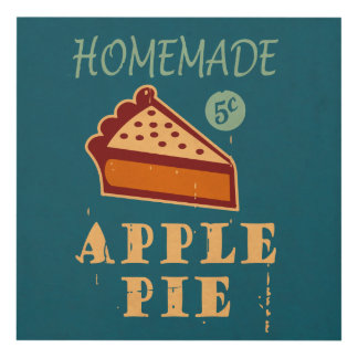 Apple Pie Panel Wall Art