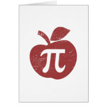Apple Pie Pi Day Card