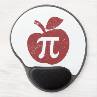Apple Pie Pi Day Gel Mouse Pad
