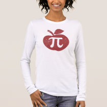 Apple Pie Pi Day Long Sleeve T-Shirt