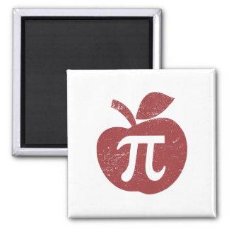 Apple Pie Pi Day Refrigerator Magnet