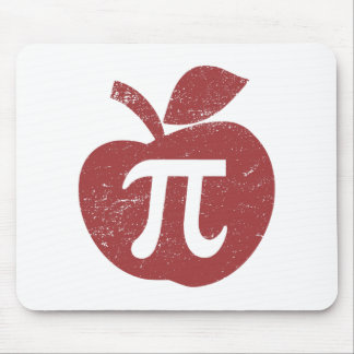 Apple Pie Pi Day Mouse Pads