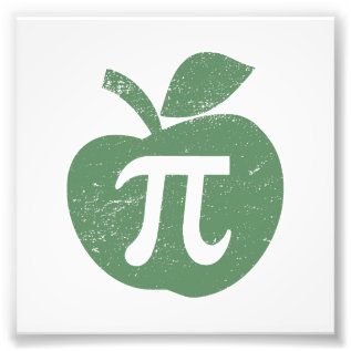 Apple Pie Pi Day Photo Print at Zazzle