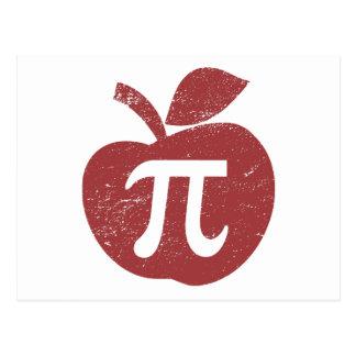 Apple Pie Pi Day Postcard