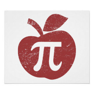 Apple Pie Pi Day Poster