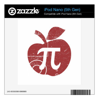 Apple Pie Pi Day Decal For iPod Nano
